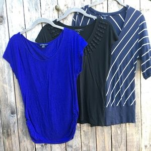 Tops - Banana Republic 3 Tee Blouses perfect condition XS